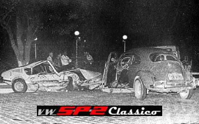 Acidente com Volkswagen SP2