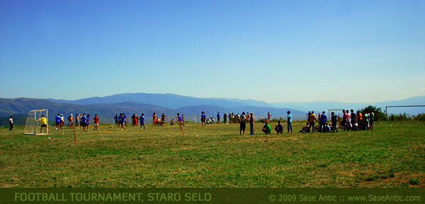 Football Tournament at Staro Selo (Polog Valley)
