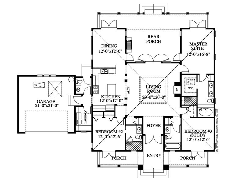 Dream House in Hawaii: House Plans