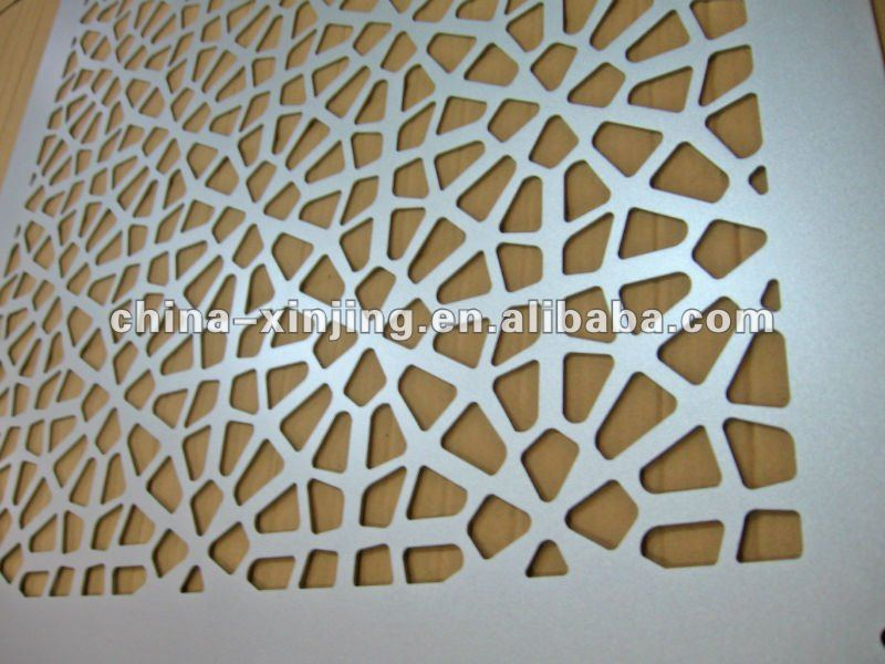 Perforated Aluminum Panels : Perforated metal sheets for decoration