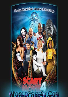Poster Of Scary Movie 4 2006 In Hindi Bluray 720P Free Download