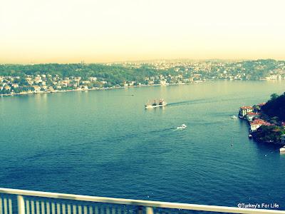 View From Fatih Sultan Mehmet Bridge, Istanbul