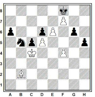 Problema ejercicio de ajedrez número 767: Rajcevic - Svendsen (Berna, 1988)