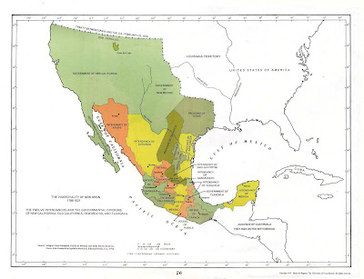 Mexico Map of Cities Geography