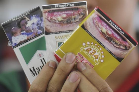 Merk Rokok Filter Kretek Yang Memuat Gambar Peringatan Bahaya Merokok