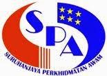 Jawatan Kerja Kosong Suruhanjaya Perkhidmatan Awam (SPA) logo www.ohjob.info september 2014