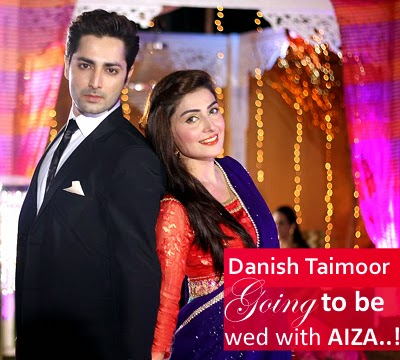 Danish Taimoor And Aiza Khan Pictures