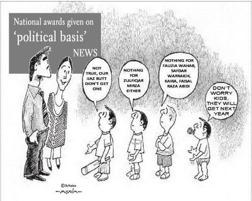 The Nation Cartoon 18-8-2011