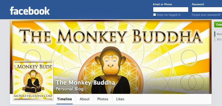 The Monkey Buddha on Facebook