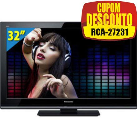 Cupom Efácil - TV 32 LED TC-L32X30B Panasonic