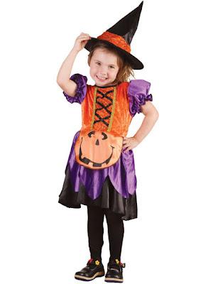 Græskar kostumekjole