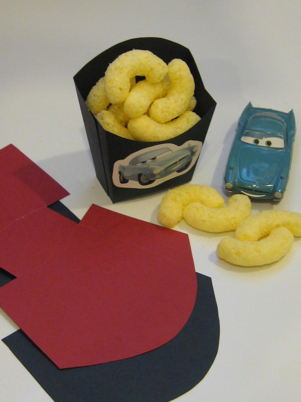 Top Carta e Cuci: Compleanno Edoardo - Cars - Mini Scatoline per  WQ11
