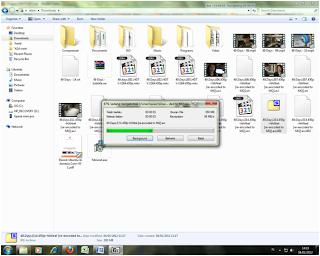 7-Zip untuk Join file.001,file.002,file.003, dst.
