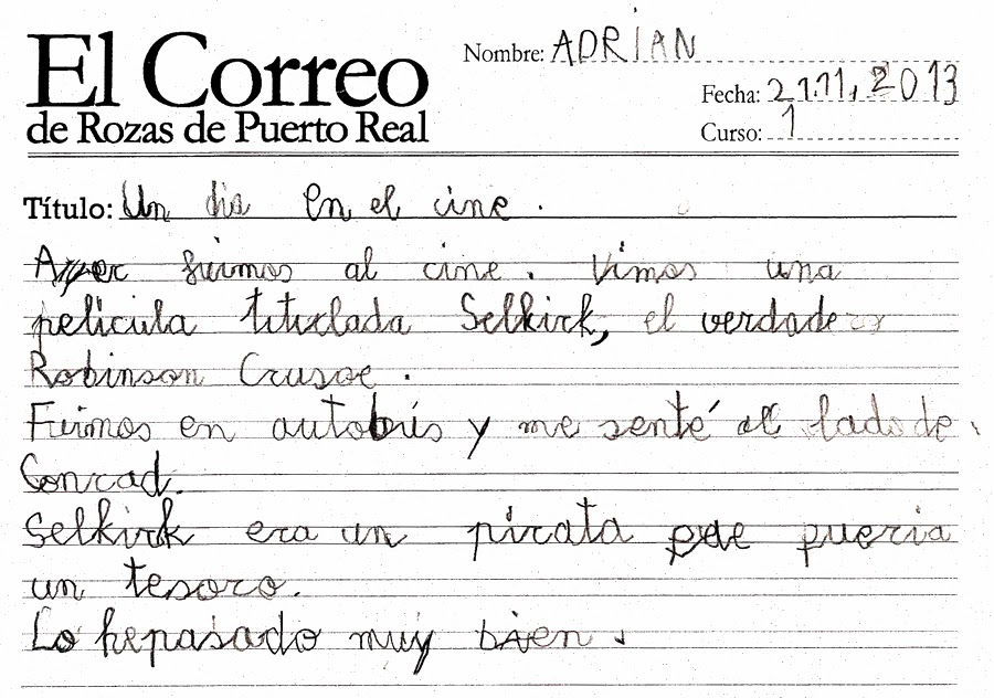 El Correo De Rozas De Puerto Real Un D A En El Cine