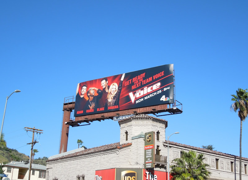 Voice season 4 tv billboard