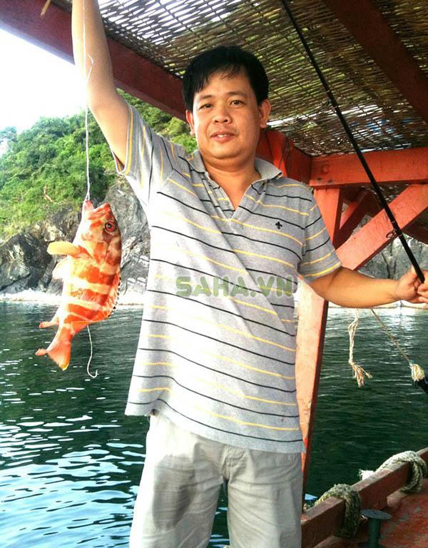 Bộ đồ nghề câu cá (cần câu, máy câu, dây và lưỡi câu)
