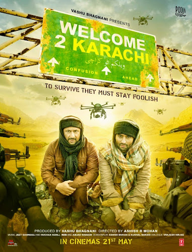 Welcome 2 Karachi (2015) Movie Poster No. 1