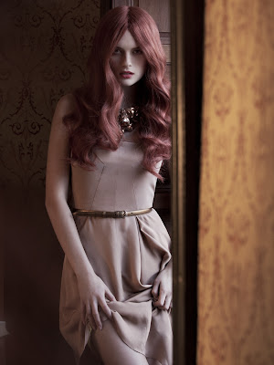 Elena Melnik Sensual Nude Body For WestEast Winter 2012
