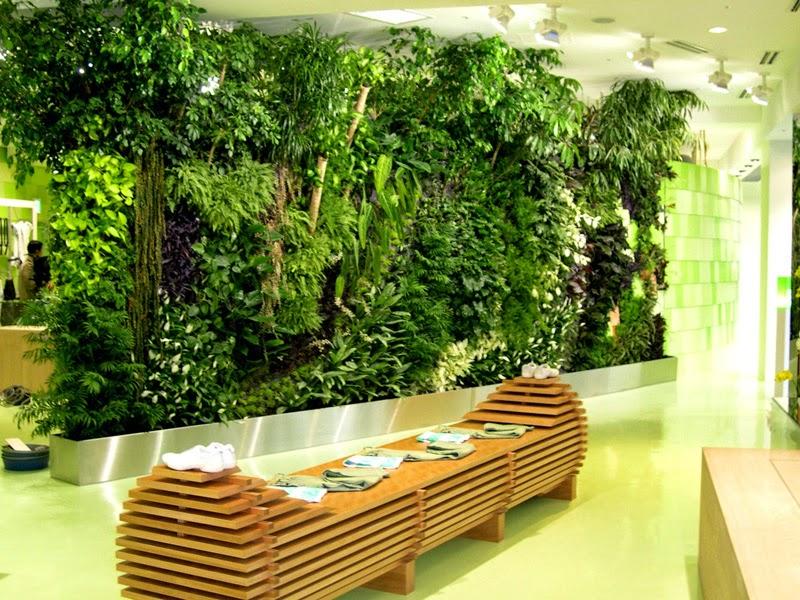 Les Jardins Verticaux, Nature et des Espaces Urbains