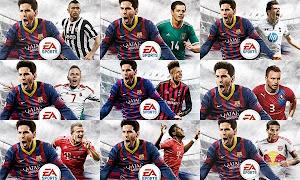 Los compañeros de Messi en el FIFA 14