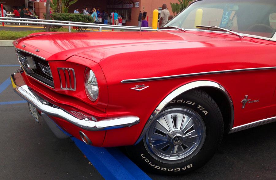 Justacargal Mustang Ragtop At Costco