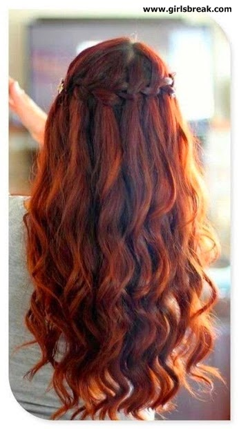 Latest Eid ul Fitr Hairstyles and Hair Fashion 2014 For Girls
