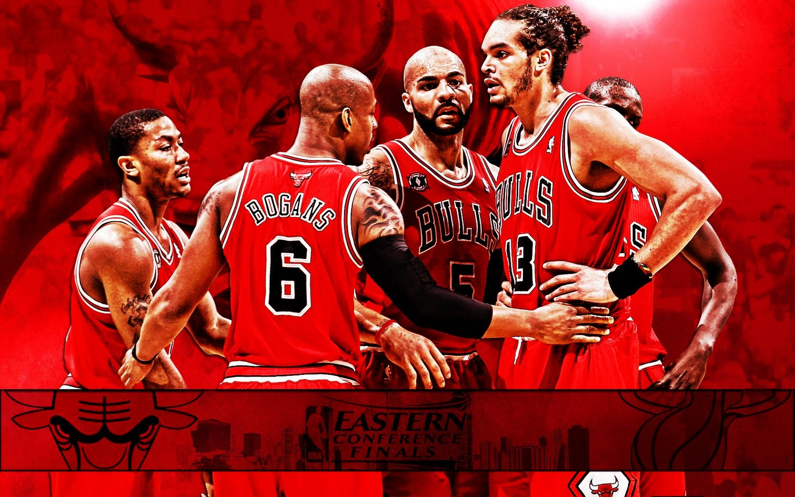 Chicago Bulls 2011 NBA Conference Finals Widescreen Wallpaper ~ Big Fan of NBA - Daily Update