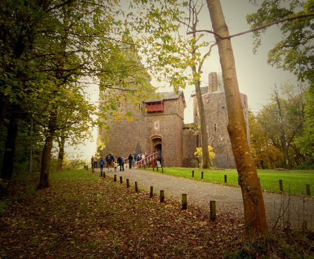 Castle Coch at Autumn