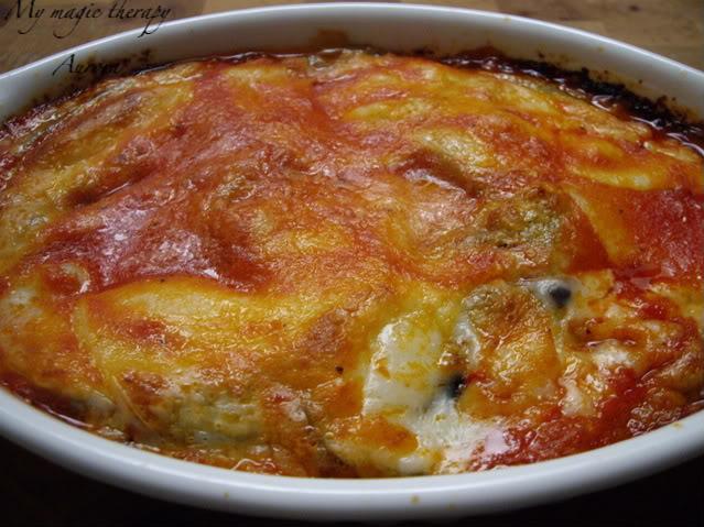 My magic therapy berenjenas al horno con tomate y mozzarella - Berenjenas con mozzarella ...