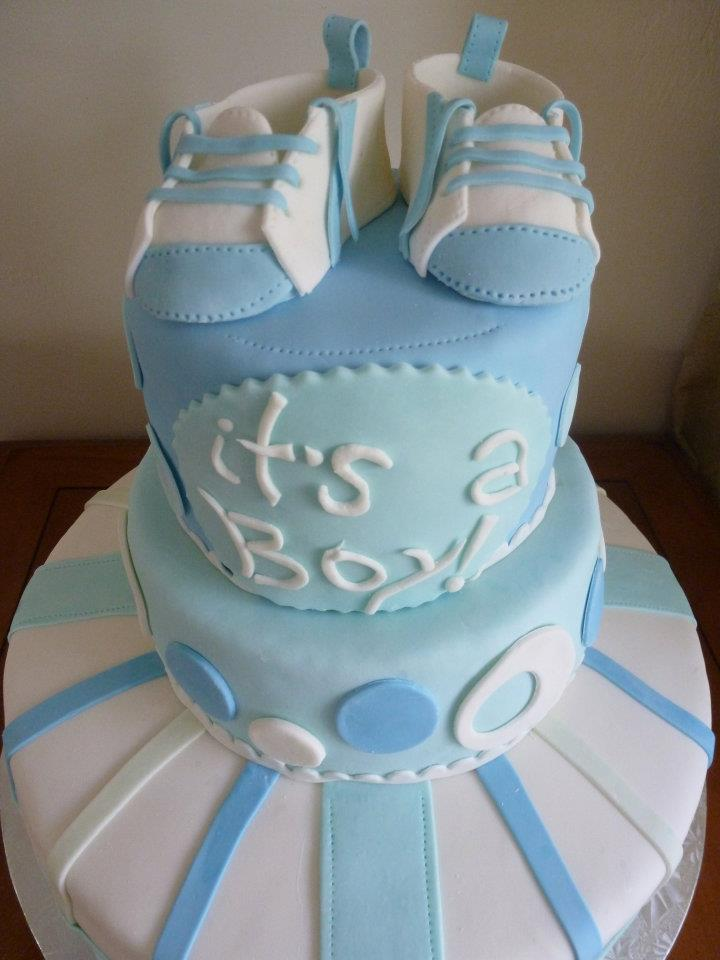 Creations by Danly: Baby boy shower cakes