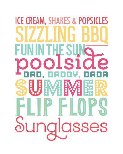 photo relating to Subway Art Printable identify Gloriously Designed: 6 Totally free Summertime Subway Artwork Printables