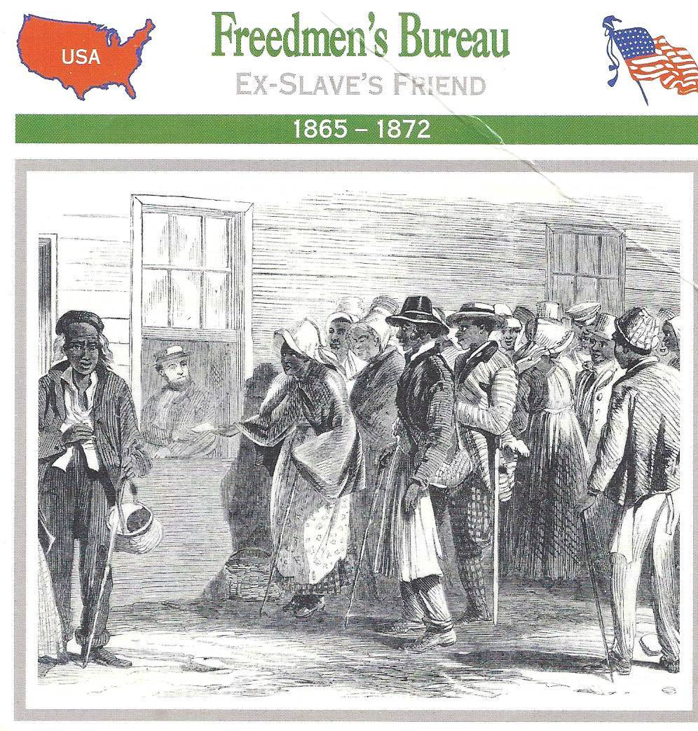 duboiss views on freedmens bureau and the reconstruction Our select #undefeated44 list has been unwrapped check the receipts of why  we feel these black americans shook up the world.