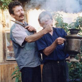 фига как средство воздействия на дым костра
