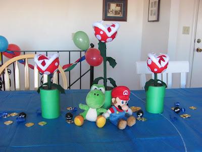 Mario Birthday Party Brainstorm   Single.
