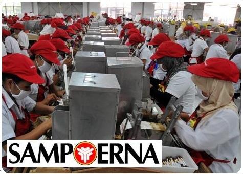 Loker Swasta Sampoerna, Info kerja S1, Karir Sampoerna 2015