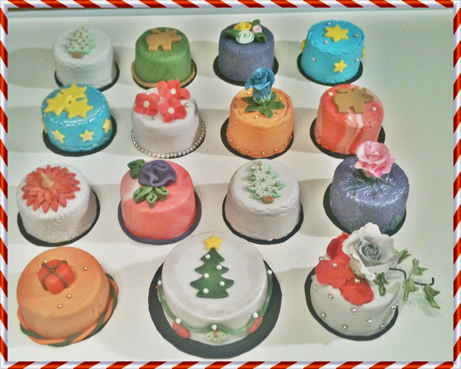 Weihnachts Kuchen Tannenbaum Und Weihnachts Petite Four