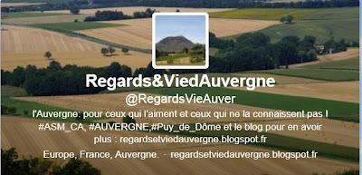 profil Twitter Regards et Vie d'Auvergne.