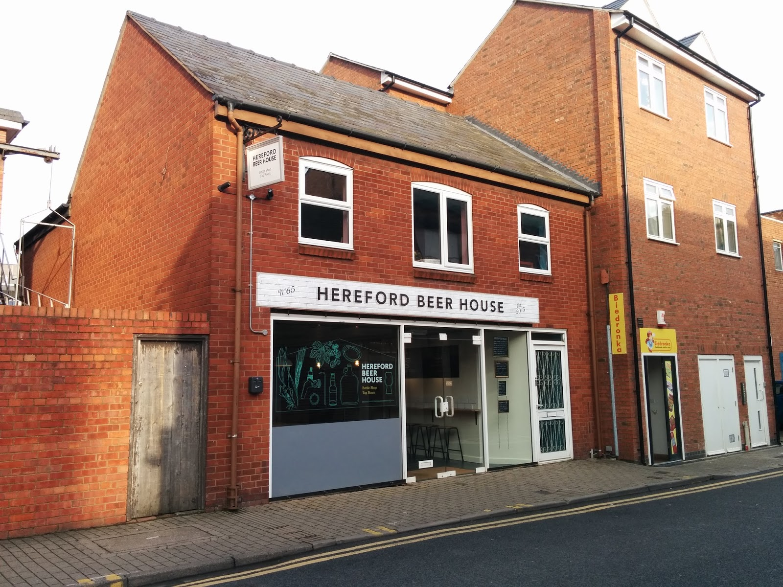 Hereford Beer House Is More Than Just A Beer Bar, However. The Beer  Offering Is Supported By Plenty Of Local Cider, Cheese U0026 Charcuterie,  Coffee U0026 Tea And ...