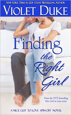 {Excerpt+Giveaway} Finding the Right Girl by Violet Duke