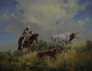 Caballos Pinturas Vaqueros
