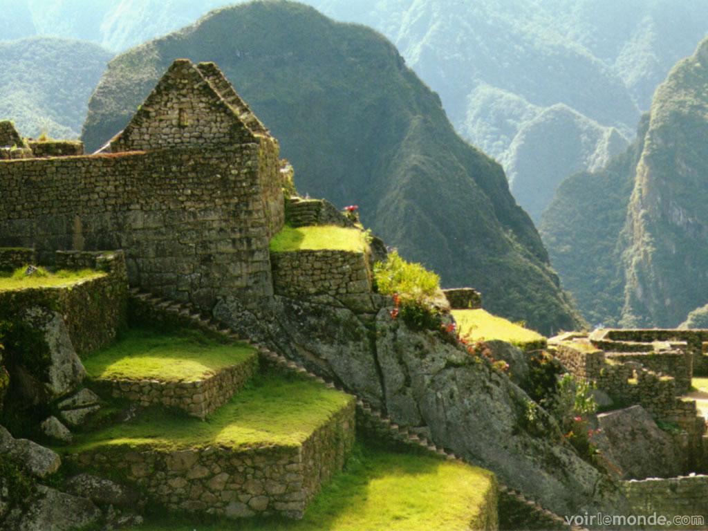Machu Picchu. Imagen: voirlemonde.com