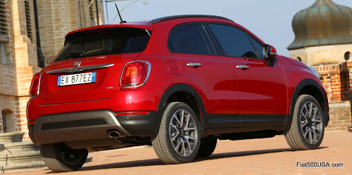 Fiat 500X Cross Rear