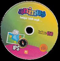 toko buku rahma: buku CD ANIMUS IPS KELAS 4, 5, 6  SD