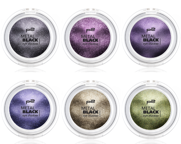 p2 metal black eye shadow