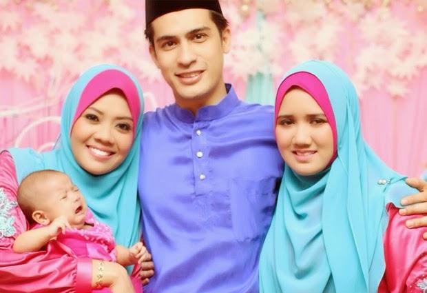 Foto Keluarga Dikritik Isteri Pertama Ashraf Muslim Mengandung