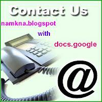 Tạo Khung Liên Hệ Đẹp với docs.google.com Kiểu 3 - http://namkna.blogspot.com/