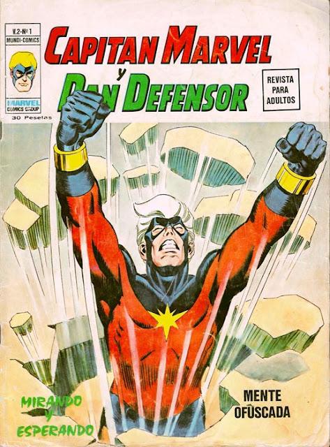Portada Héroes Marvel Volumen 2 Nº 1 Ediciones Vértice