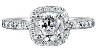 As superstars demonstrate them off as their engagement rings, cushion cut diamonds engagement rings of  have turn out to be progressively popular
