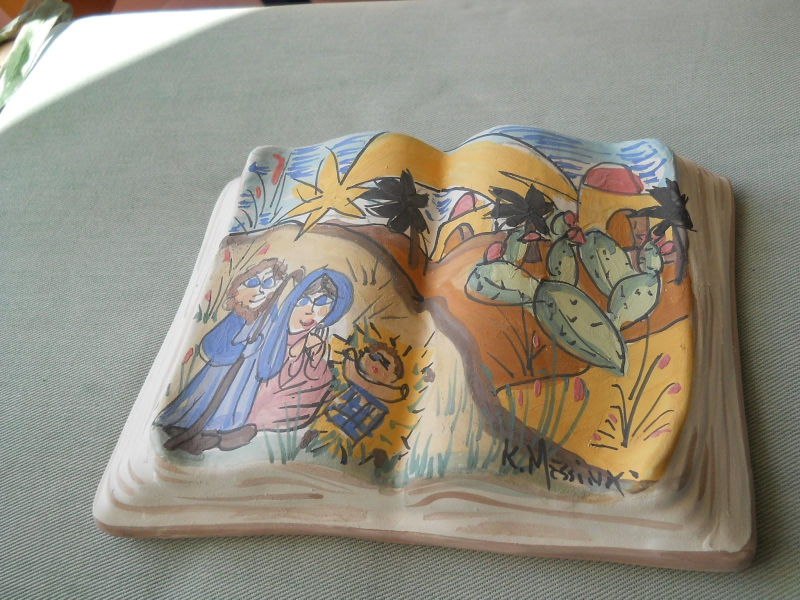 Ceramiche e dintorni libro natale for Libro in ceramica