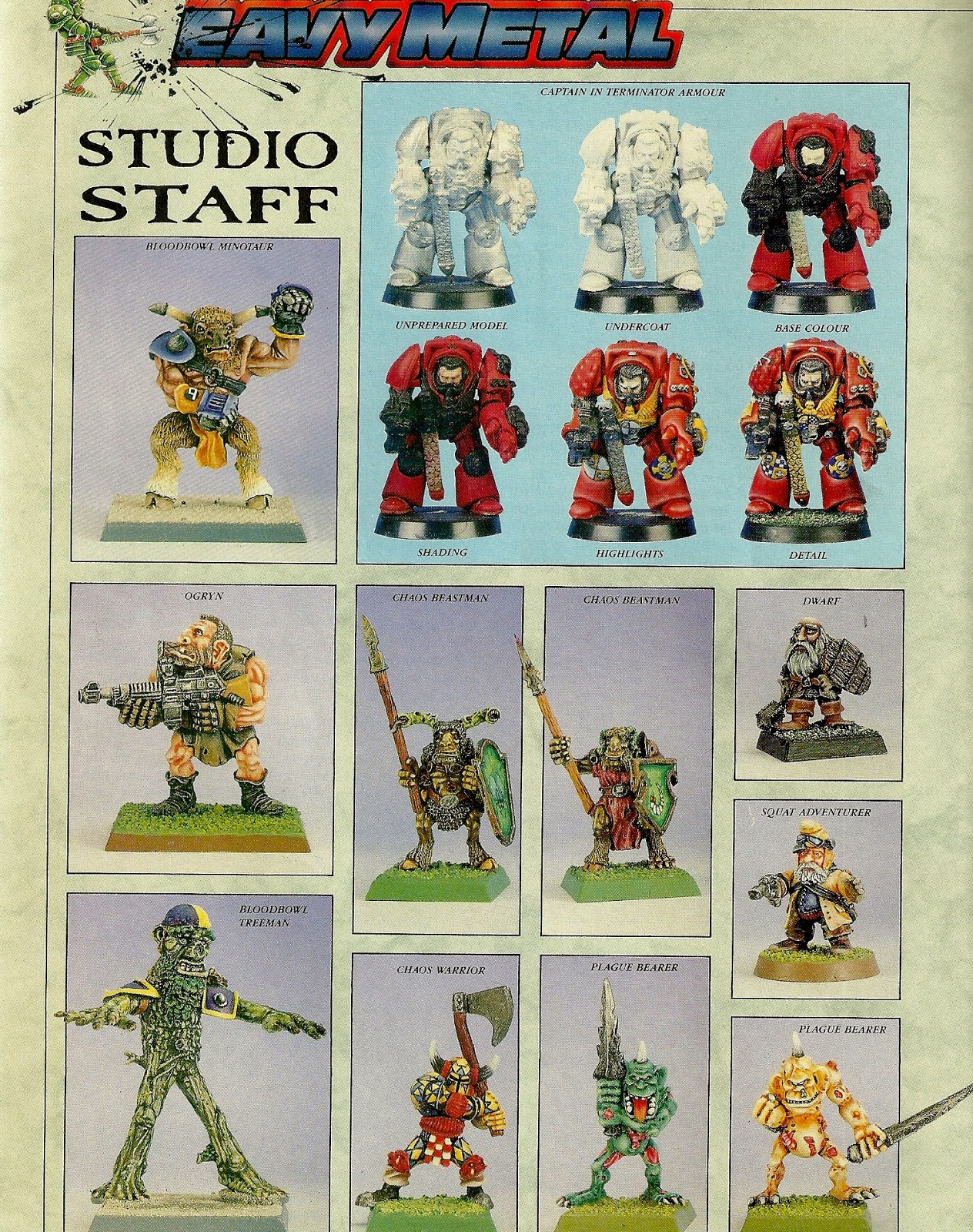 'Eavy Metal Special from White Dwarf 115
